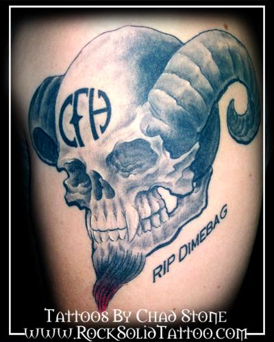 pantera cowboys from hell tattoo - photo #20