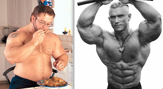 Lee Priest on/off season