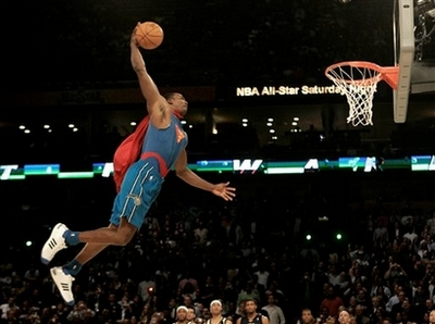 Dwight Howard Superman Troðsla