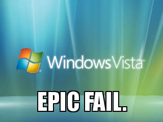 Windows vista fail?