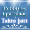 15.000 kr. í pottinum