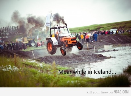 Meanwhile in Iceland...