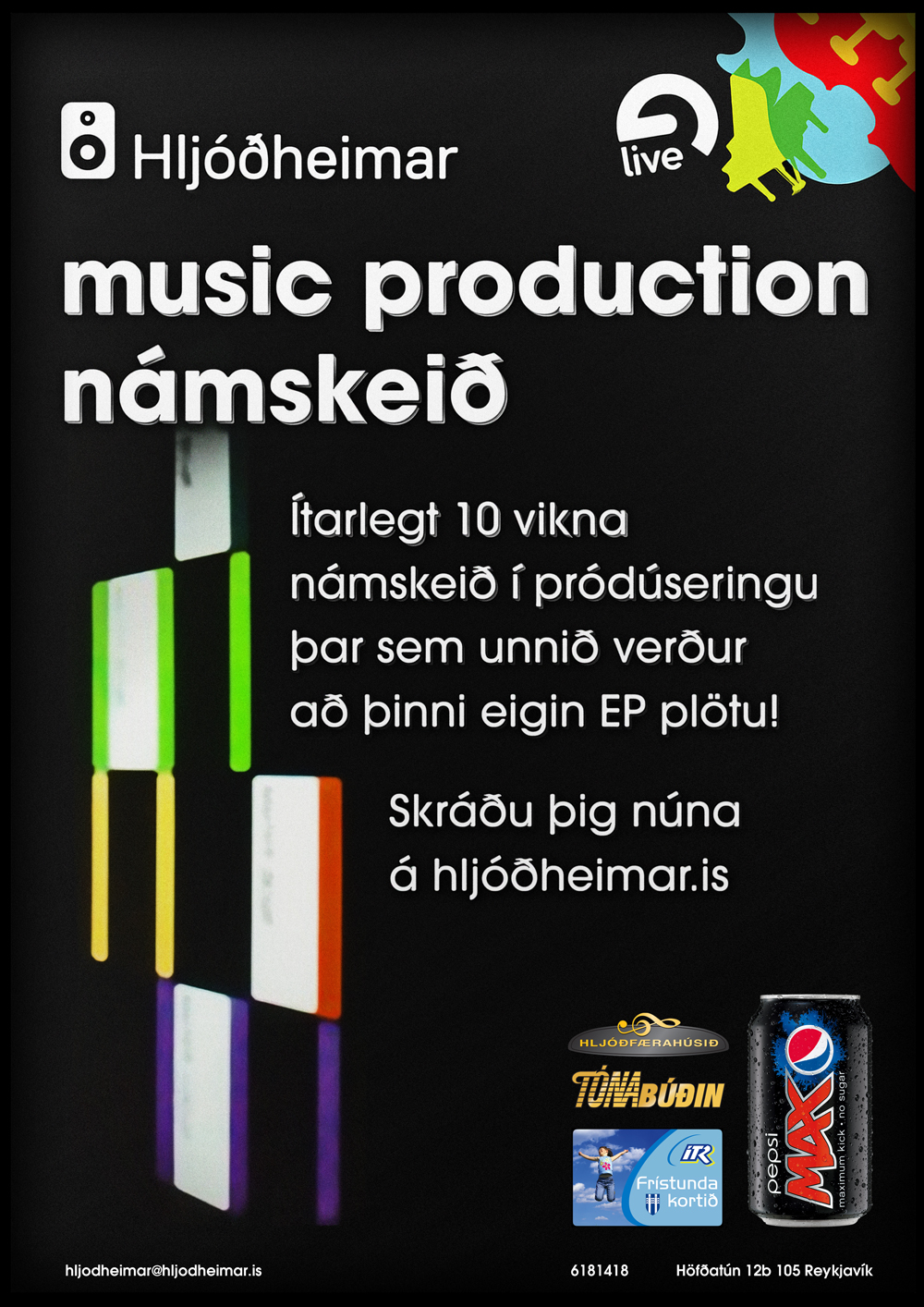 Music Production - Námskeið